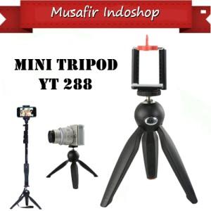 Buy 1 Get Free ! Tripod Mini Yunteng YT 228 Free Holder U