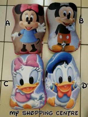 Bantal Mickey Minnie Donald Deasy Duck Berkualitas