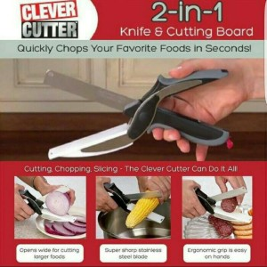 Clever Cutter Seen on TV / Pisau Gunting Pemotong Serba Limited
