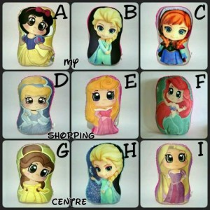 Bantal Princess New Design Limited
