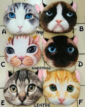 Bantal CAT Kucing 3D Limited