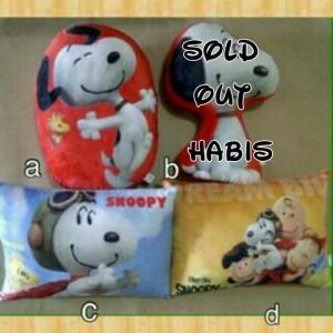 Bantal Snoopy Diskon