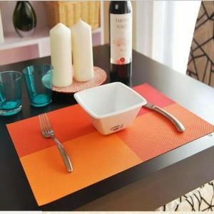 Tatakan Piring Bahan PVC Ringan Modern Higienis Tahan P Limited