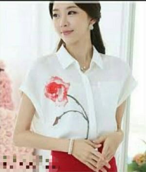 BV3868H - Rose blouse/kemeja