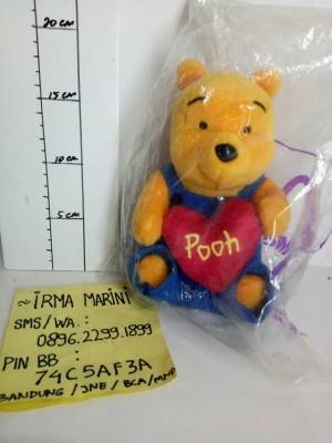 boneka pooh love mcd