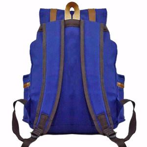 NEW Respect Canvas Asterix Backpack - Biru LZD