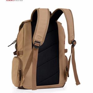NEW Bag fashion men Tas ransel kanvas Tas punggung pria [Army Green] L