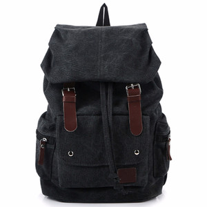 NEW Leather Backpack - Hitam LZD