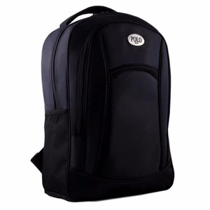 NEW Polo Campus BLACK BOMBER Laptop Backpack + FREE Raincover LZD
