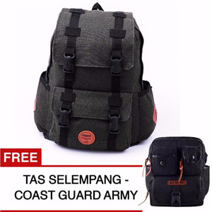 NEW Respect Soldier With Labtop Slot Dark Grey + FREE Coast Guard LZD
