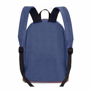 NEW QuincyLabel Bag Backpack - Blue LZD