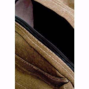 NEW Bag & Stuff Canvas Respect Backpack - Khaki LZD