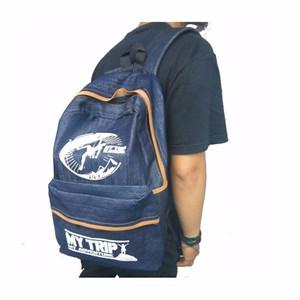 NEW Athar BP1 Unisex Tas Ransel Backpack - Denim - Murah & Ergonomi (N