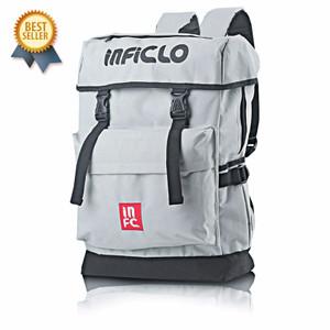 NEW Inflico Tas Punggung Laptop Inficlo SIN 412 Abu Pria - Ransel Pria