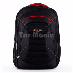 NEW Polo Meteorite Emboss Laptop Backpack +Raincover - Black FREE Polo