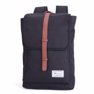 NEW JOY Men's Oxford cloth waterproof Backpack Black - intl LZD