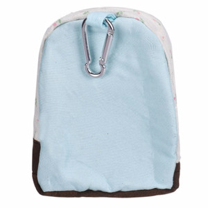NEW Canvas Mini Floral Backpack Women Girls Kids Cheap Coin Pouch Whit