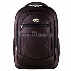 NEW Polo Campus King Cobra Laptop Backpack -Brown + FREE Raincover LZD