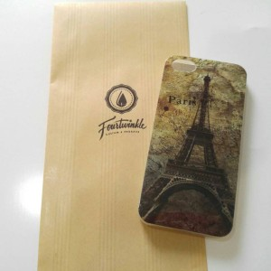 Case iphone 5 5s paris eiffel fashion soft case