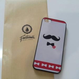 Case iphone 5 5s kumis moustache lucu fashion