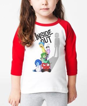 Kaos Inside Out/Kaos Raglan Anak Ajs272