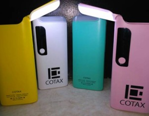 "Power Bank 12,000mAh ""Hijau"" Real Capacity Made In Indonesia ""Cotax"""