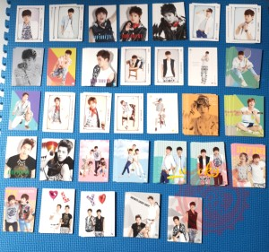 Infinite Official Collection Card vol.1 (Choose Card)