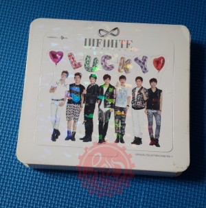 Infinite Official Pop-Up Hologram Cover Collection Card vol.1
