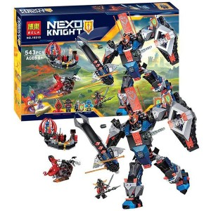 Sy 573 Nexo Knights Moltors Mech Source Lego Lepin Bricks 14014. Source .