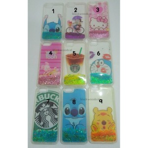 Softcase / Case Air Glitter Motif ( Trip 3 ) - Samsung J1 Ace
