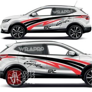 sticker mobil cutting striping Spirit Competition TRD stiker keren