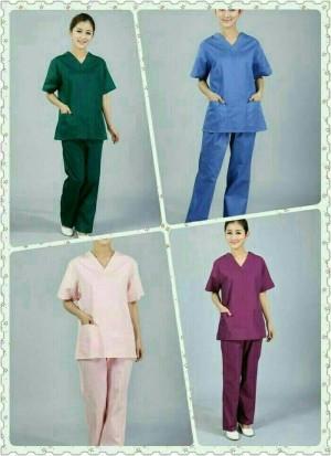 Baju OK / Baju Perawat Lengan pendek
