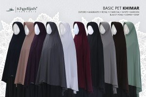 Khimar Basic Pet S
