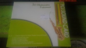 pci sound card 3d multimedia enjoyment