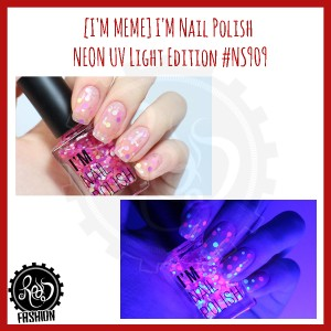 [I'M MEME] I'm Nail Polish Neon UV Light Edition #NS909