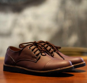 Sepatu Formal PEDRO Dark Brown