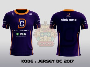 JERSEY / KAOS TEAM GAMING DOTA 2 DIGITAL CHAOS 2017