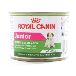 Royal Canin Mini Junior Can 195gr Makanan Kaleng Anjing Anak Basah
