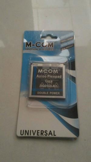 Baterai Mcom Picopad 5 GEA double Power 5000mah