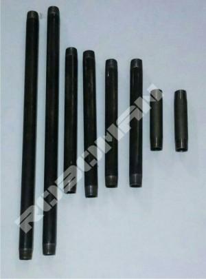 Pipa inchian hitam 20 cm 1/2 inch