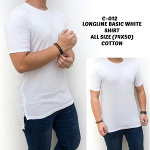 Jual Kaos Oblong Putih Motif Panjang Polos Gambar