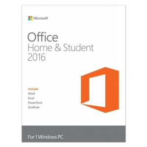 OFFICE HOME STUDENT 2016 FPP 1PC ( Permanent )