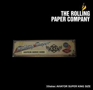 33 Tabac AVIATOR - SUPER KING SIZE Rolling Paper Papir Kertas Linting