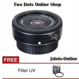 Canon Lensa EF-S 24mm f/2.8 STM / Canon 24 mm f2.8 + Free UV Filter