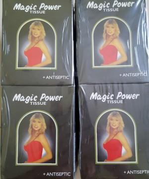 jual magic power tissue antiseptic tisu khusus pria kuat perkasa
