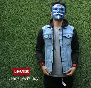 JAKET JEANS HOODIE / MEREK LEVIS / BIO BLITZ