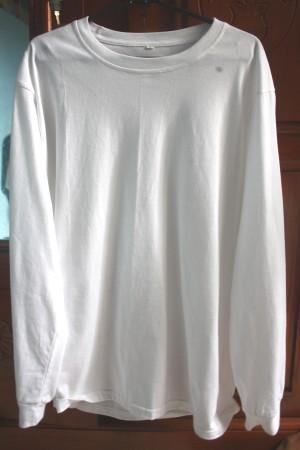 Jual Laris Kaos Polos Lengan Panjang Putih Sycom5 Tokopedia Gambar