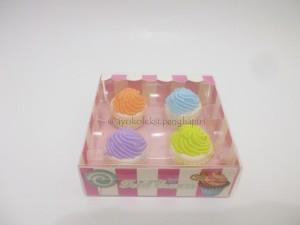 Penghapus Cupcake Polos Set