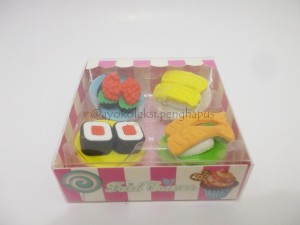 Penghapus Sushi Set