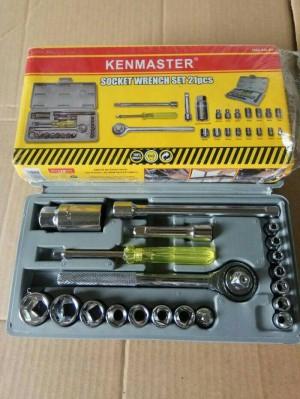 Home · Ronaco Aiwa Kunci Socket Wrench Pas Sok Shock Sock Set 40 Pcs; Page - 2. Kunci Sok Kenmaster Original Tidak Karat & 39 Sok Set 21 Pcs Kenmaster